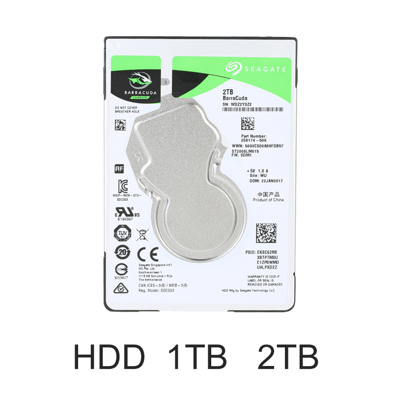 HIKVISON NAS Networking Storage HDD 1tb 2tb 2.5inch 7mm for H90 NEW ORIGINAL 1