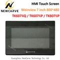Новый интерфейс WEINVIEW/WEINTEK TK6071iQ TK6071iP TK8071iP HMI сенсорный экран 7 дюймов 800*480 USB Ethernet NEWCARVE