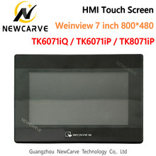 Interface de máquina humana weinview/weintek» hmi touch screen 7 Polegada 800*480 usb ethernet newcarve