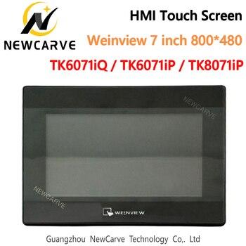 Nouvelle Interface de Machine humaine WEINVIEW/WEINTEK TK6071iQ TK6071iP TK8071iP HMI écran tactile 7 pouces 800*480 USB Ethernet NEWCARVE