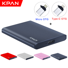 HDD Tablet External-Hard-Drive Android-Phone USB3.0 1tb-Disk 2TB 500g Ce for Pc/mac Type-C
