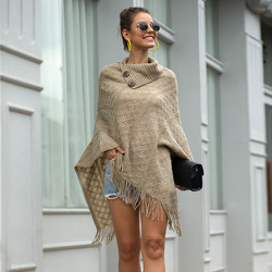 Invierno capa Mujer otoño Patchwork capas chal cachemir Cuello de piel ponchos de abrigo Mujer Invierno Elegantes capa Poncho Mujer