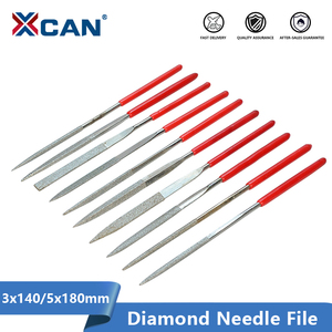 XCAN Diamond File Set 3x140mm