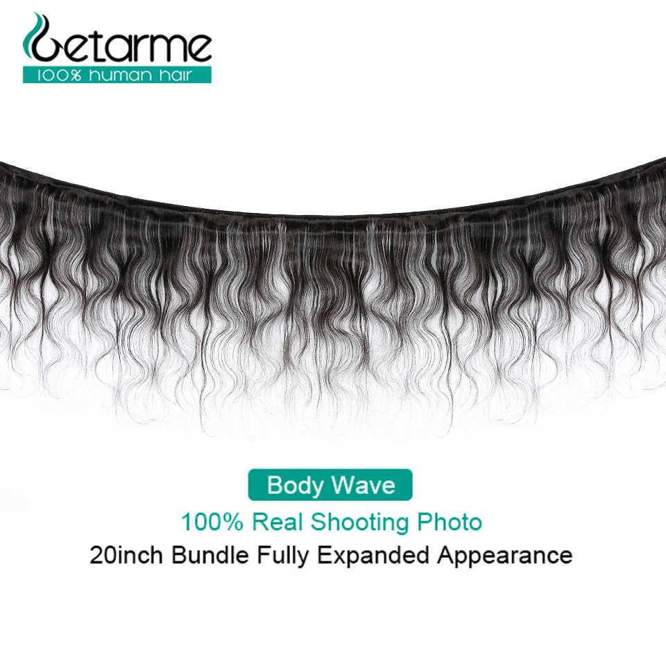 50 Gram/Sepotong Brasil Gelombang Tubuh Bundel dengan Penutupan Tidak Remy 2X4 Tisu Bresiliens Avec 100% Rambut Manusia dengan Penutup