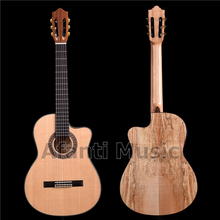 Afanti Music 39 Inch Solid Spruce top Classical Guitar with EQ (ACL-1202-X)