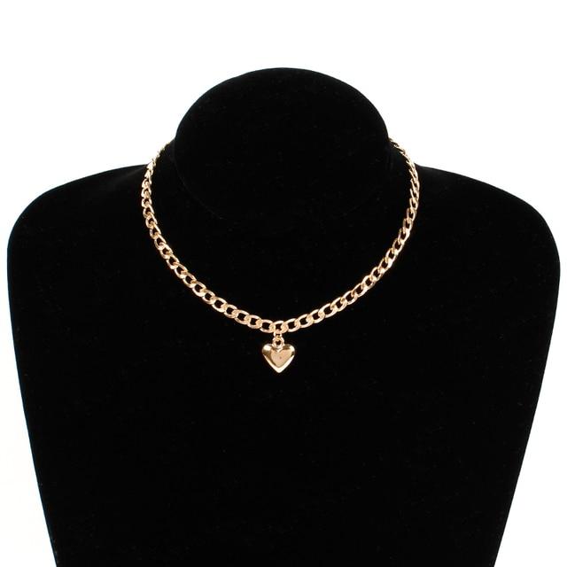 Купить модная женская бижутерия ожерелье на шею с милым замком в форме картинки