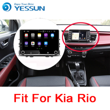 YESSUN para Kia Rio YB 2017 ~ 2018 Android coche navegación GPS pantalla táctil HD Audio Video Radio Estéreo reproductor Multimedia No CD DVD