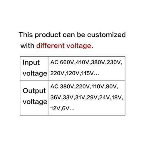 potencia de controle 220 v 380 v