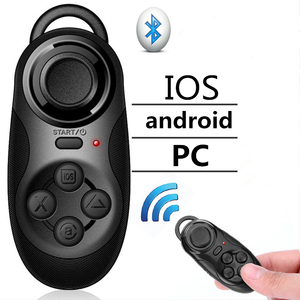 Wireless Bluetooth V4.0 Game Handle Mini VR Controller Remote Pad Gamepad For IOS/Android Smartphone Joystick Boy Children Gift