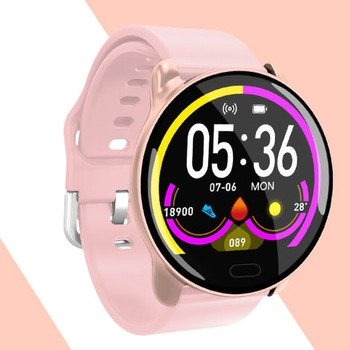 K9 Smart Watch Smart watch IP68 Waterproof Color Heart Rate Monitor Fitness Tracker Sports Smart Watch With built-in Phone CF58 image