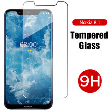 Hardness Anti Knock Clear Protective Glass for Nokia 6.1 5.1 Plus 6 5 Screen Protector for Nokia 7.1 7 Plus 7.2 6.2 Front Glass(China)