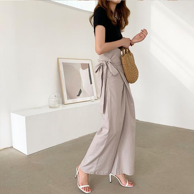 Women's Casual Bell Bottom Pants 2