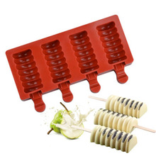 Molds Tray Dessert Ice-Cube-Moulds DIY Striped 3/4/8-cavity