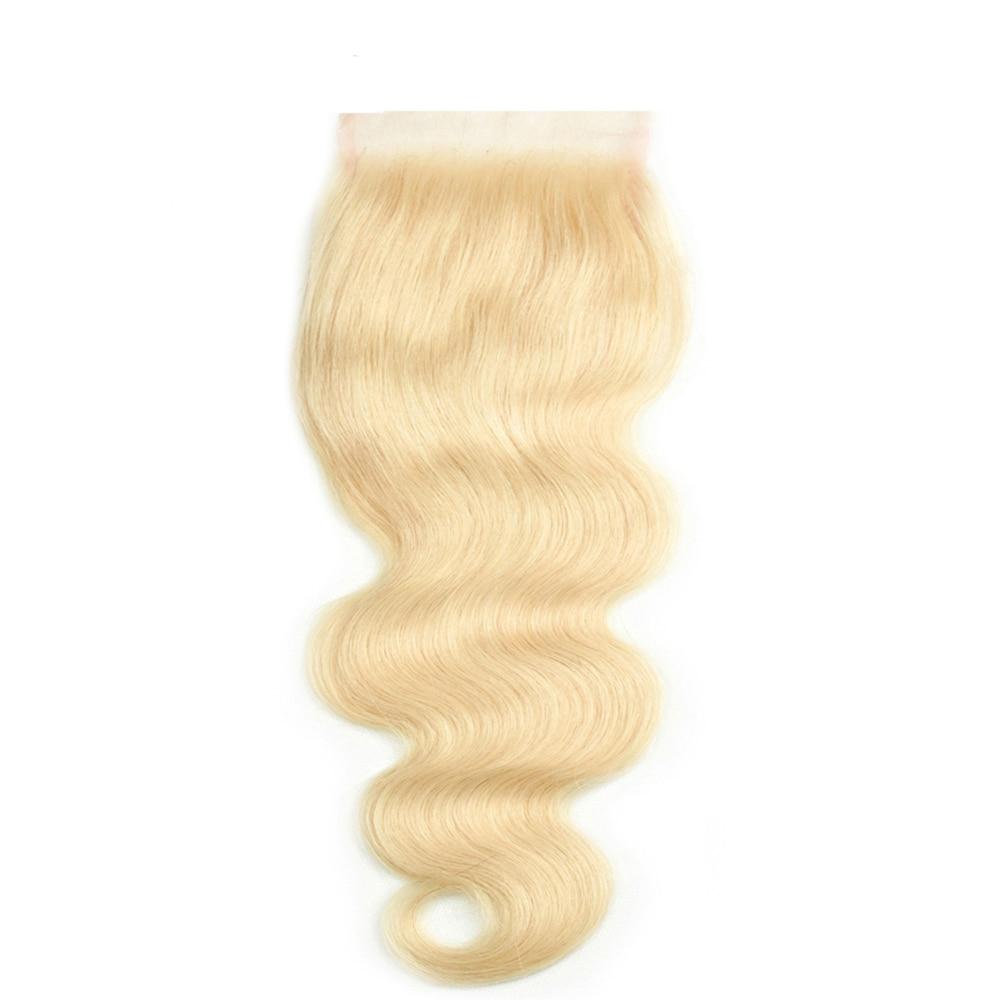 Светильник лый блонд шелковая основа человеческие волосы на кружевной застежке 5*5 шелковая верхняя застежка волнистые волосы Remy человечес...
