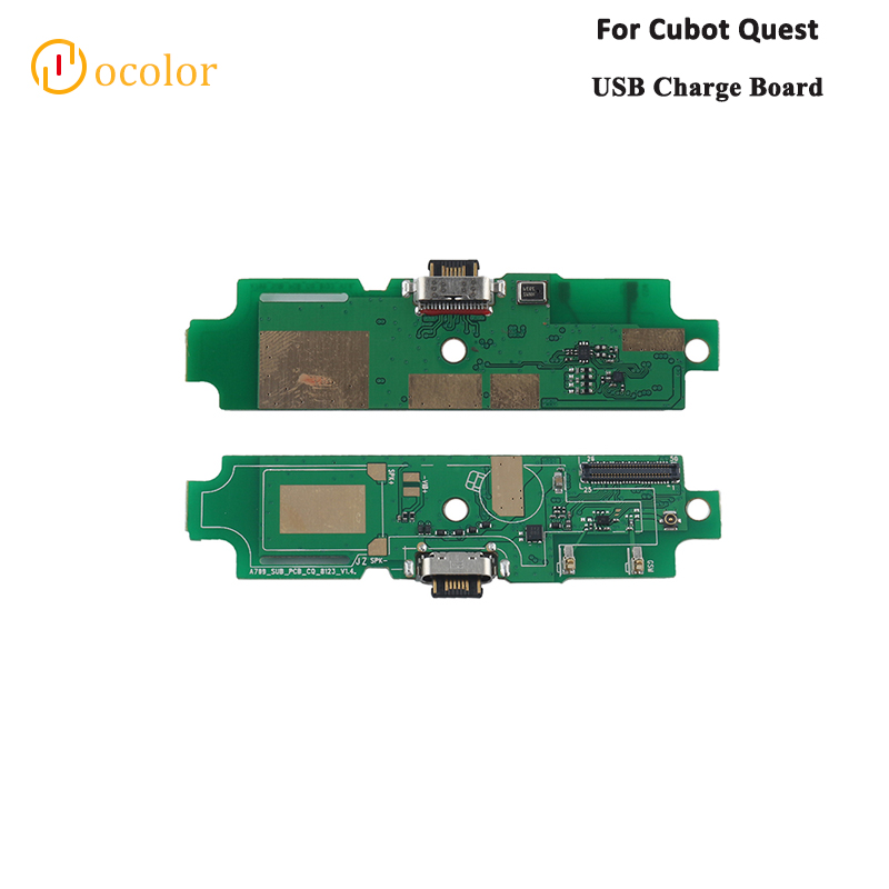 Ocolor For Cubot Quest USB Charge Board Replacement Parts For Cubot Quest USB Plug Charge Board High Quality Phone Accessories