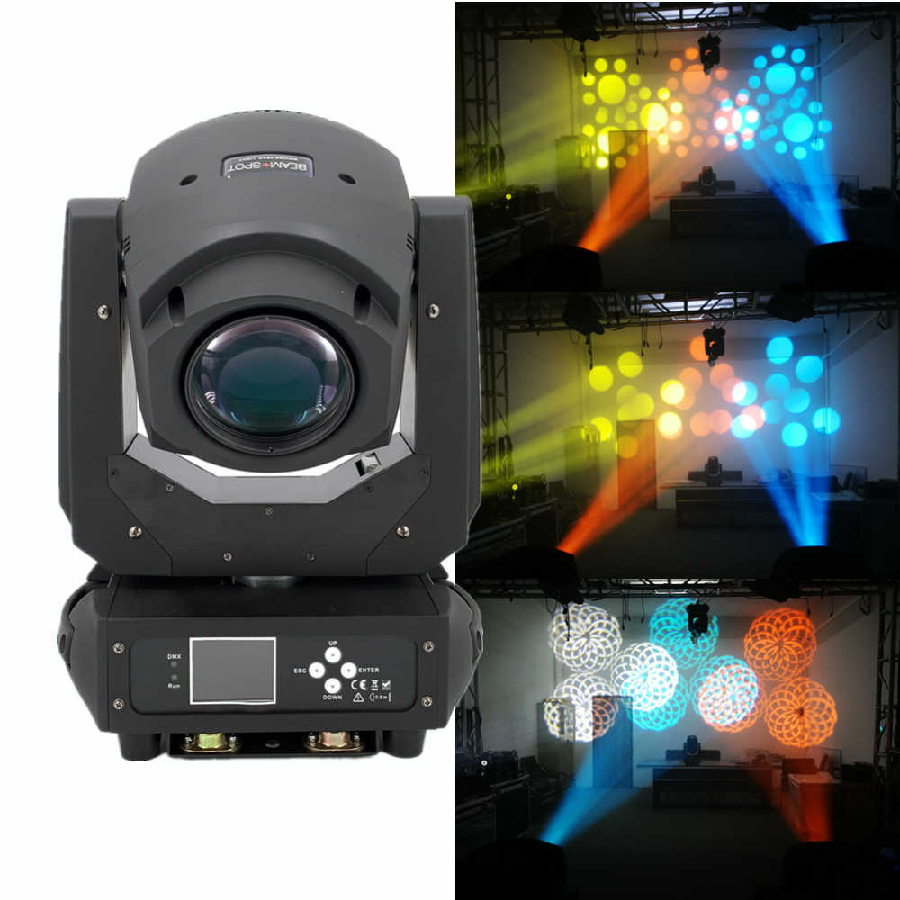 LED 200W 2in1 RGBW BEAM/Lampu DMX512 Moving Head Light DJ /Bar/Pesta/Acara/Panggung Lampu LED Panggung Mesin