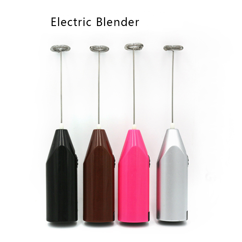 Electric Milk Beater Kitchen Electric Egg Mixer Electric Hand Whisk Mini Coffee Blender Automatic MilK Foaming Devices Stir Bar