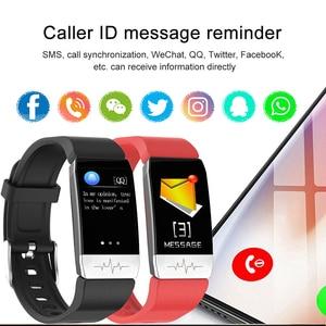 Image 5 - Multi sport Smart Watch Thermometer Temperature Measurement ECG Health Monitor Wristband Waterproof Music Control Smart Bracelet