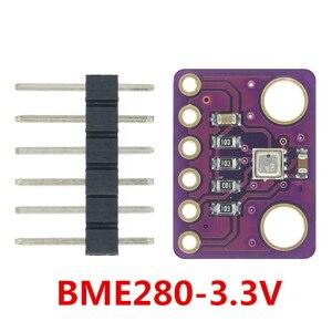 Image 2 - 10PCS BME280 3.3V 5V Digital Sensor Temperature Humidity Barometric Pressure Sensor Module I2C SPI 1.8 5V BME280 sensor module