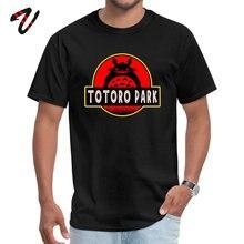 3D Printed Jurassic Park Totoro Funny Tshirts Japanese Anime Studio Ghibli Manga Fashion Tee Shirt Boy Cotton Streetwear