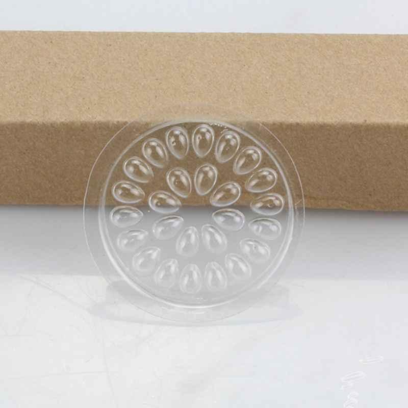 10 Uds 10 Uds flor desechable pestaña con forma extensión pegamento soporte Junta almohadillas plástico transparente pegamento para pestañas paleta con