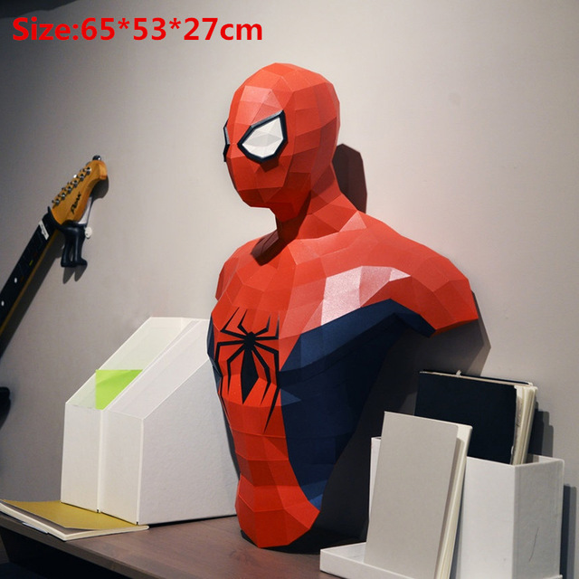 Doctor Banner 3D Paper Model Papercraft  Handmade Educational Puzzles Kids Toys Gift Anime Decoration Home Decor Wall Super Hero 5