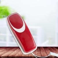 Mini Desktop Snoer Vaste Telefoon Vaste Telefoon Wandmontage Mute/Pauze/Herhalen Functies voor Home Hotel Office Bank