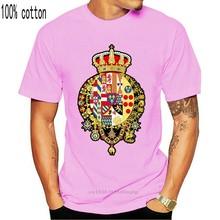 Reino masculino dos dois sicilies, regno due sicilie t camisa projetando manga curta tamanho euro S-3xl padrão famoso moda camisa