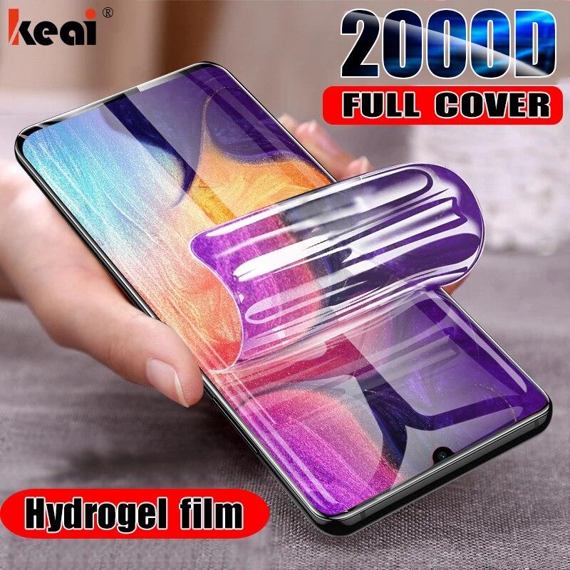 2000D гидрогель пленка для Samsung Galaxy S10E S8 S9 S20 fe S21 Примечание для на самсунг 20 Ультра 9 10 Plus плюс протектор экрана из закаленного стекла для A50 A51 A70 ...
