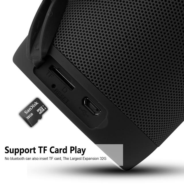 T2 Wireless Bluetooth Speakers Best Waterproof Portable Outdoor Loudspeaker Mini Column Box Speaker Design for iPhone Xiaomi 3