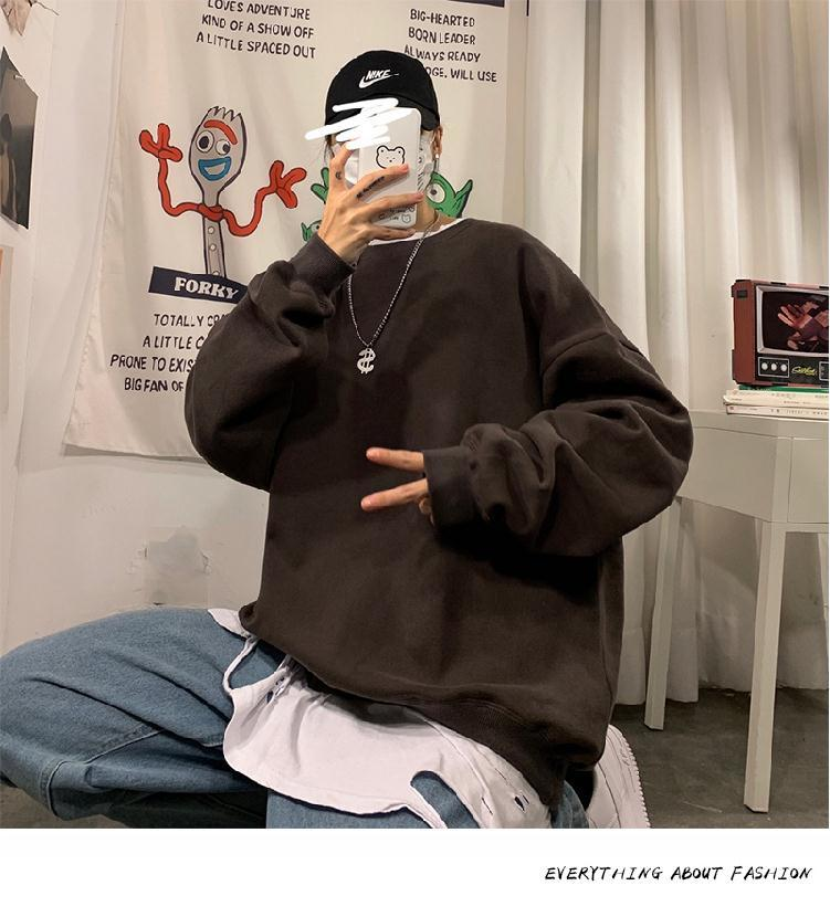 Hfc051e583a954061b433def452a4f9abD loose Korean style plus size sweatshirt winter clothes streetwear women 2020 new fashion plus velvet oversize harajuku hoodie