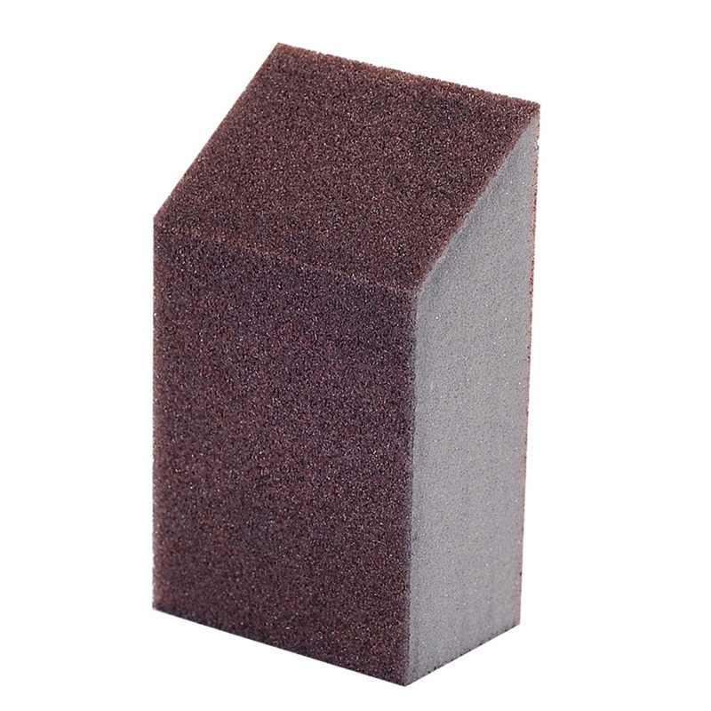 Schwamm Carborundum Pinsel Küche Waschen Reinigung Küche Reiniger Werkzeug Braun Waschen Topf Pinsel Magnetische Küche Zubehör