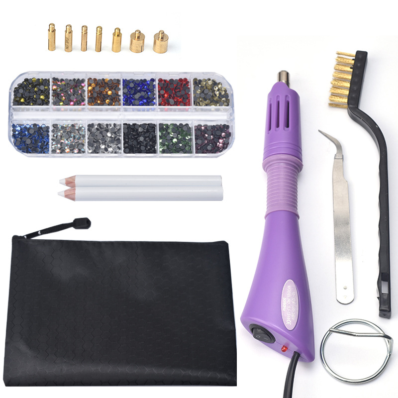 venda quente maquina de perfuracao caneta ponto figura armas quentes roupas diy vara ferramentas broca diamante