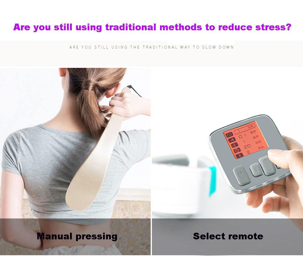Manual Acupuncture-Point Cervical Massage Device Finger Neck Massager Relieve CE