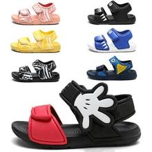 2020 Kids Girls Sandals Summer New Non slip Beach Shoes Open Children's Sandals Wild Boys Student Children's Shoes Sandals     - AliExpress