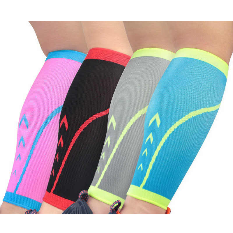 1 Pair Nylon Calf Compression Leg Sleeves For Men Women Fitness Running Gear Leg Warmer Shin Guard Sport Protector Accessory