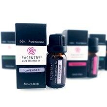 6Pcs 10ml Humidifier Aroma Essential Oils Kit Lavender Massa