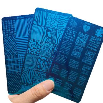 12*6 szablon do tłoczenia paznokci szablon Letter-Word 1-321 multi-style płytki do tłoczenia paznokci pieczątka na paznokcie szablony szablonów HJJK tanie i dobre opinie MAFANAILS CN (pochodzenie) 6X12cm Template jhghj5454 stainless steel 1 pcs Tłoczenie Nail Art Stamp Template Stencils Artist Manicure