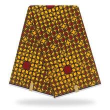 Нигерийский воск Holland высокое качество tissus Воск Принт ткань Горячая африканская ткань Анкара швейный материал 6 ярдов