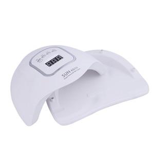 Image 5 - 120W Led Uv Lamp Nail Dryer Led Nail Wit Licht Nagels Gels Manicure Machine Met Timer Knop Lcd scherm nail Art Gereedschap