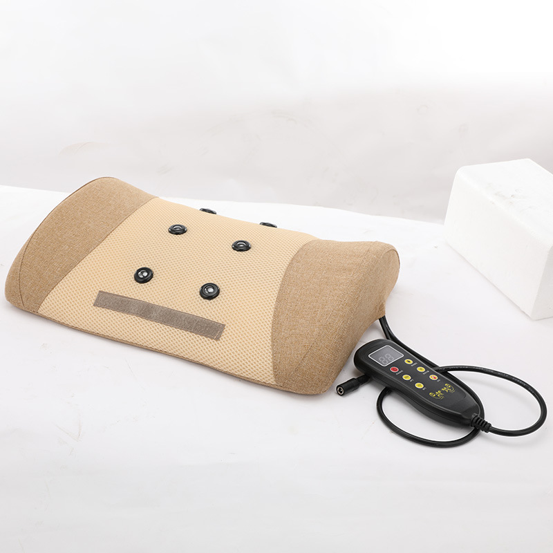 Lumbar Disc Herniation Treatment Massage Pillow Muscle Relax Electric Massage Tool Infrared Physiotherapy Machine Antifatigue