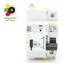 Matismart MT51RA повторный выключатель 1P mcb 63a с контролем сухого контакта