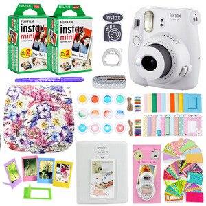 Image 5 - Fujifilm Instax Mini 9 fotocamera per stampa fotografica istantanea con 40 fogli Mini pellicola per fotocamera borsa a tracolla borsa accessori Bundle