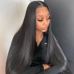 30 дюймов, прямые человеческие волосы на пряди бразильские пряди парик Наращивание волос 1 3 4 Связки человеческих волос Плетение прямые воло...