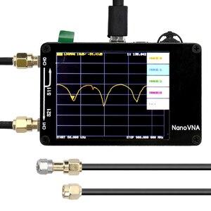 Image 1 - جهاز محلل هوائي شبكة من NanoVNA لموجات الراديو القصيرة MF HF VHF UHF