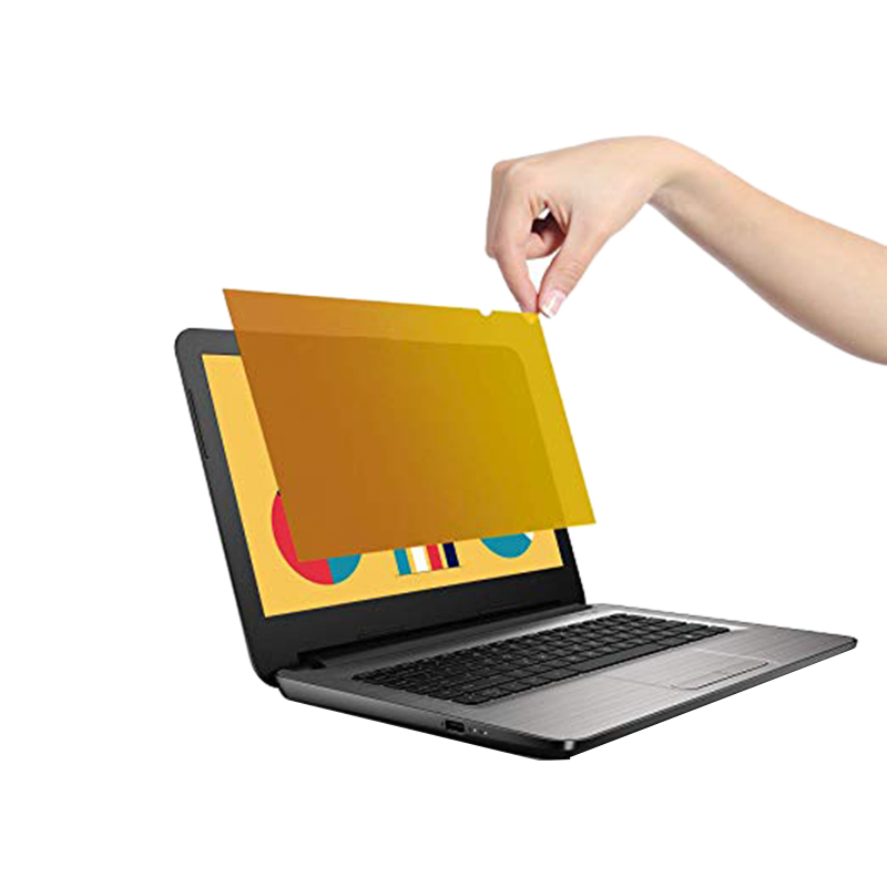 Gold Premium Privacy Screen Filter & Protector For Laptop Computers (13.3 Inches Gold)