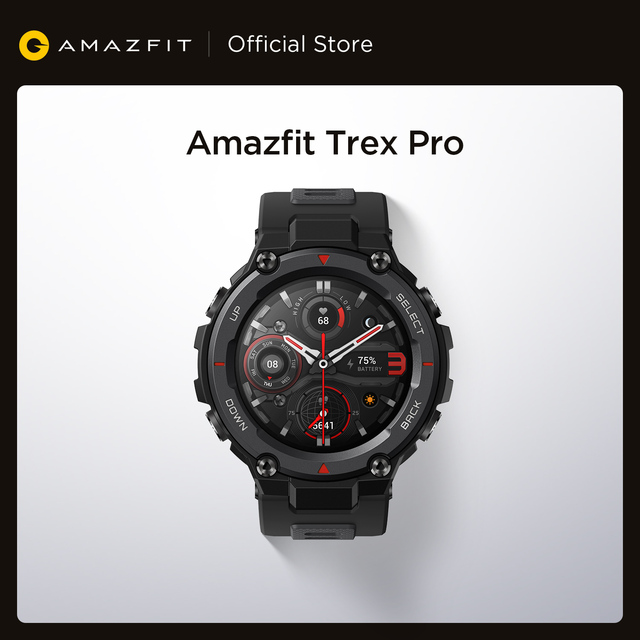 New Amazfit T-rex Trex Pro T Rex GPS Outdoor Smartwatch Waterproof 18-day Battery Life 390mAh Smart Watch For Android iOS Phone 1