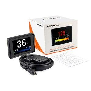Image 5 - Jauge de température de liquide de refroidissement, outil de Diagnostic, tachymètre, compteur de vitesse, ordinateur de carburant embarqué, OBD2