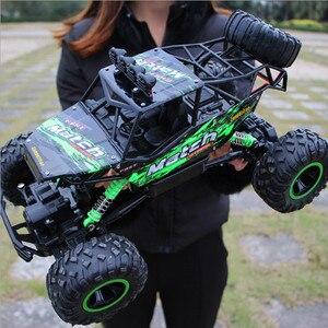 Image 5 - Voiture télécommandée 4 WD télécommande 2.4G, voitures télécommandées, jouets pour garçons, Buggy, camions tout terrain pour enfants, véhicule modèle, 37 CM 1:12