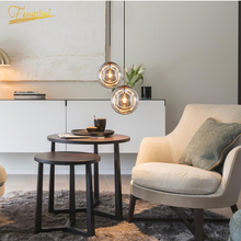 Modern LED Pendant Lamp Lighting Fixtures Nordic Glass Pendant Living for Room Bedroom Dining Room Loft Home Decor Hanging Lamp modern nordic rose plant pendant lights led glass hanging lamp for home decor luminaires dining room living room light fixtures